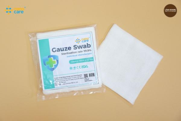 Sterile Cotton Gauze Pad Large Size
